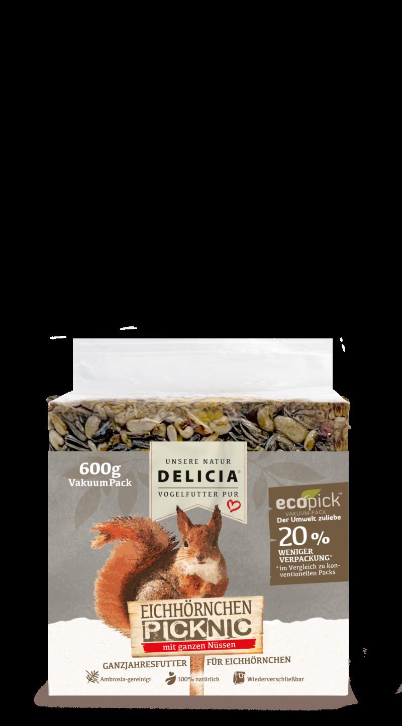 Delicia Eichhörnchen Picknic 600 g