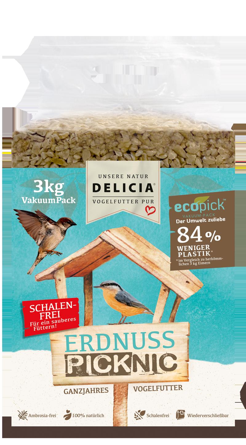Delicia Erdnuss Picknic 3 kg