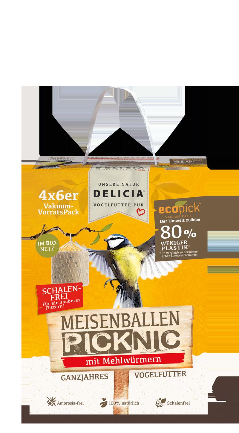 Delicia MeisenBallen Picknic im Bio-Netz 24er