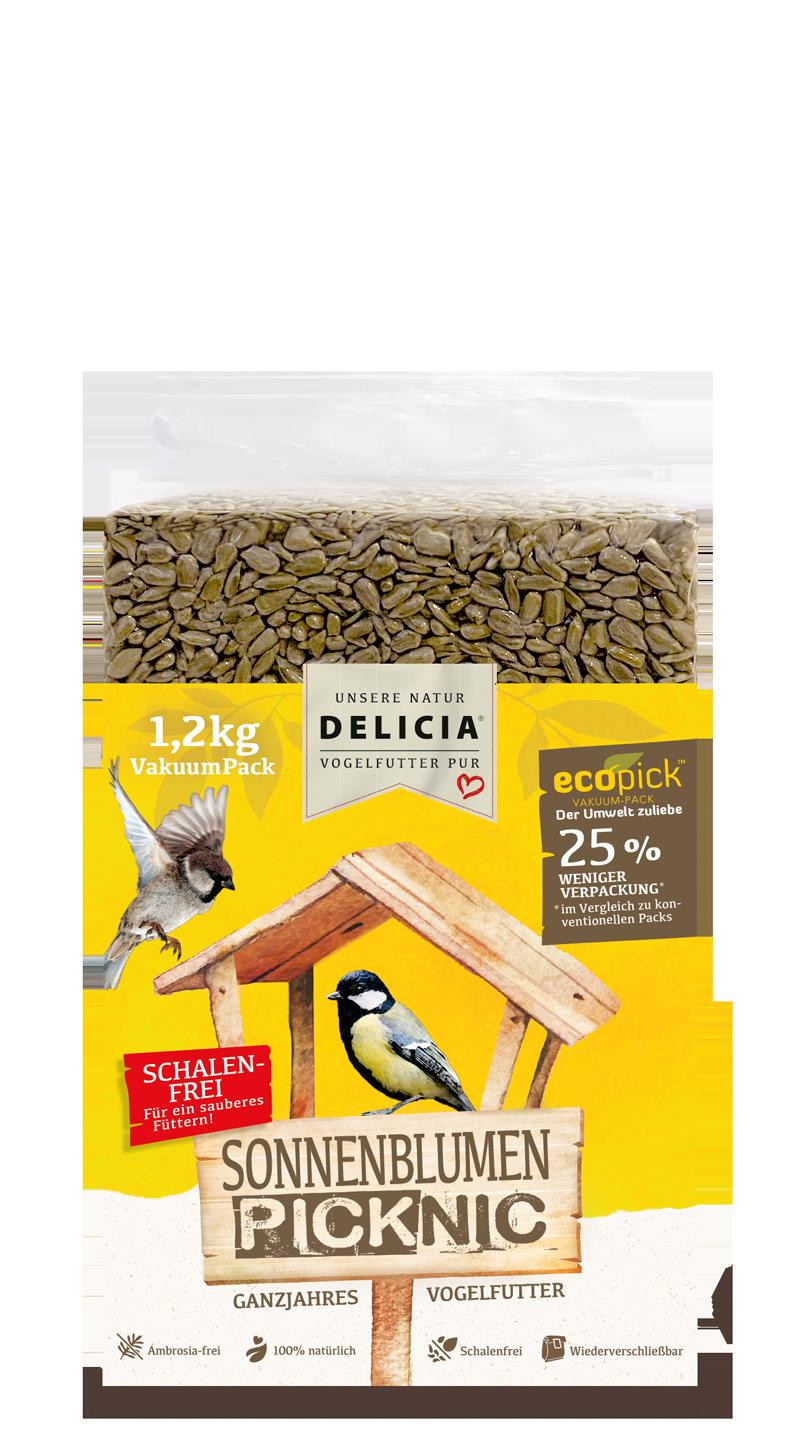 Delicia Sonnenblumen-Picknic 1,2 kg