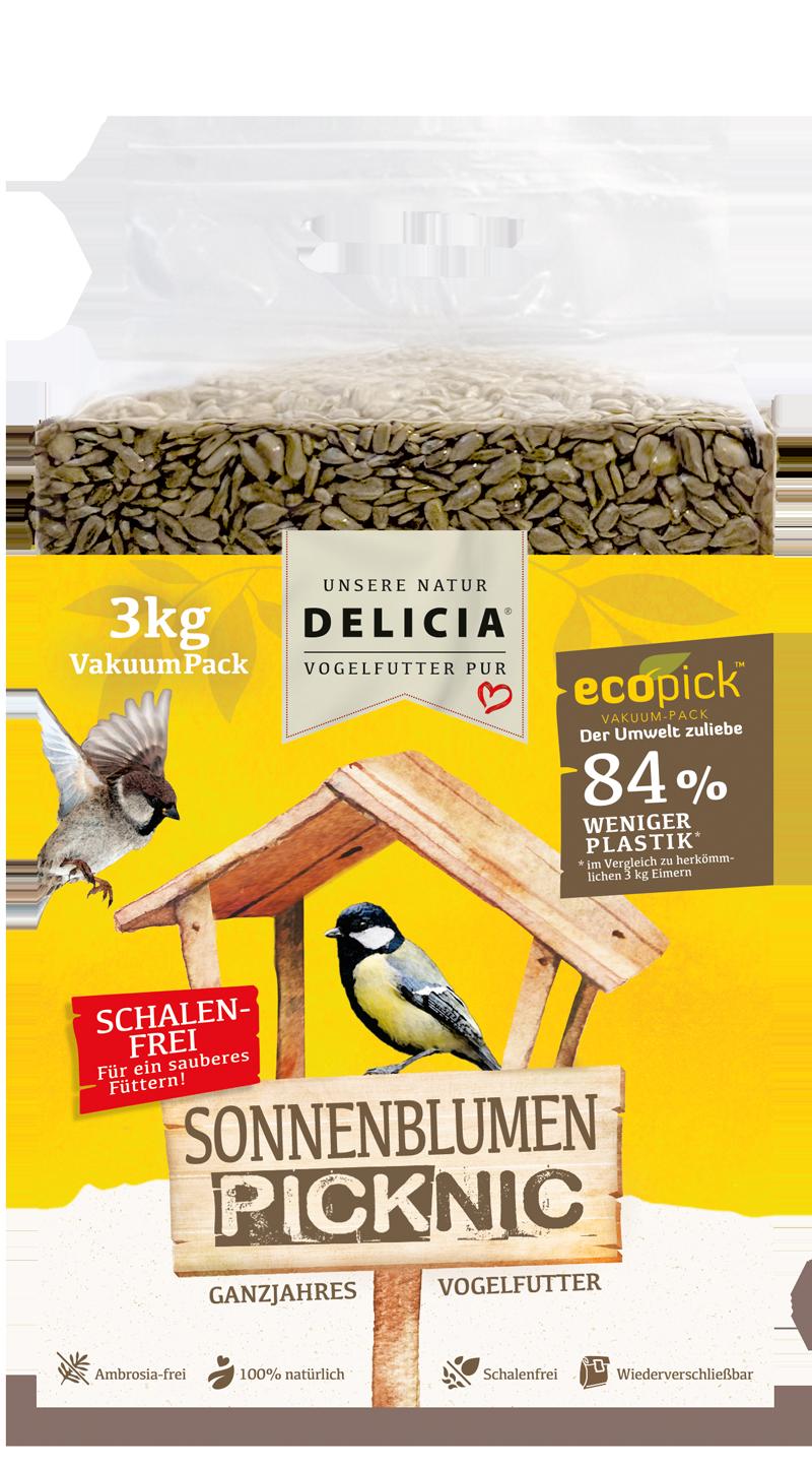 Delicia Sonnenblumen-Picknic 3 kg