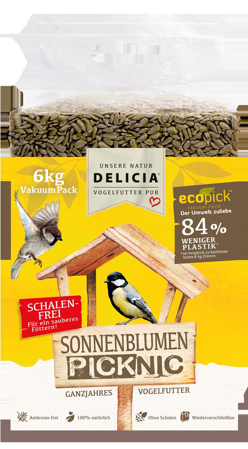 Delicia Sonnenblumen-Picknic 6 kg