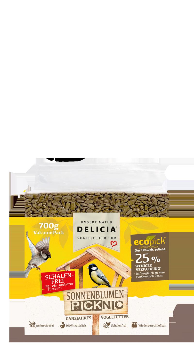 Delicia Sonnenblumen-Picknic 700 g